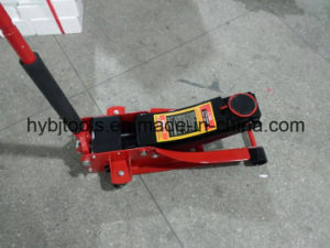 3t Low Profile Floor Jack with Double Pump Qfl0302 pictures & photos