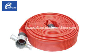 Red Fire Hose with British John Morris Coupling pictures & photos