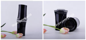 Handmade Black Bamboo Patterned Drinking Glass pictures & photos