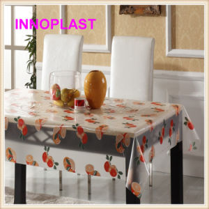 PVC Crystal Table Cloth for Wedding in Wholesale pictures & photos