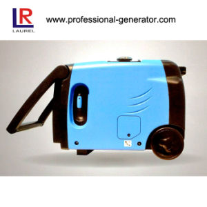 Recoil & Electric Starting 2.8kVA Portable Gasoline Inverter Generator pictures & photos