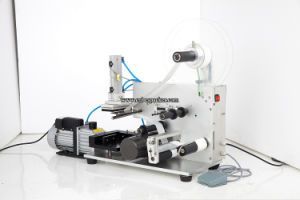 Semi-Auto Bottle Lip Balm Labeling Machine pictures & photos