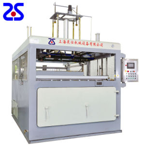 Zs-2015 Semi-Automatic Thick Sheet Vacuum Forming Machine pictures & photos
