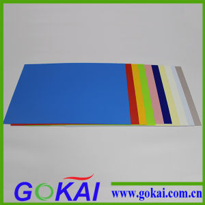 6mm Clear PVC Rigid Sheet/Color PVC Rigid Board pictures & photos