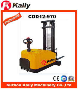 Counterbalance Electric Stacker (CDD12-970) pictures & photos