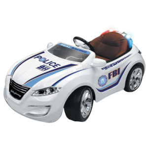 Emulation Electric Police Car Plastic Kids Ride on Car (10212989) pictures & photos