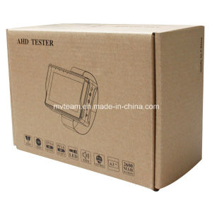 "Portable Ahd Tvi Analog CCTV Tester with 4.3"" TFT LCD Screen (AHT43) pictures & photos"