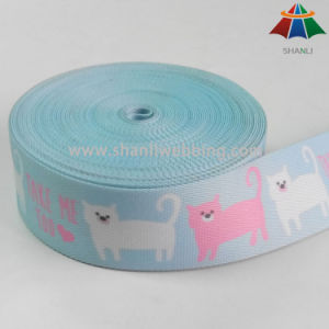 Professional Heat Transfer Printing Webbing Manufacturer pictures & photos