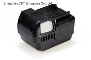 Replacement Power Tool Battery for Hitachi Bsl 2530, 328033, 328034 4000mAh