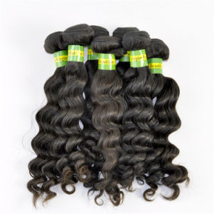 Brazilian Virgin Hair Extensions Deep Wave Natural Hair pictures & photos
