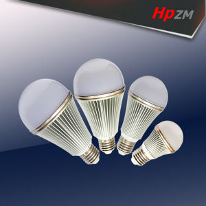 9W E27/B22 Epistar Chip A60 LED Light Bulb pictures & photos