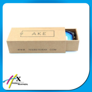 Kraft Brown Drawer Box for Sunglasses Packaging pictures & photos