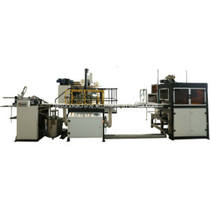Automatic Box Machine for Paperboard Cover Rigid Box (YX-6418) pictures & photos