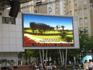 Outdoor Plaza LED Display Board Full Color P10 LED Billboard