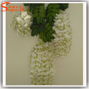 Christmas Decoration Fabric Artificial Wisteria Flower pictures & photos