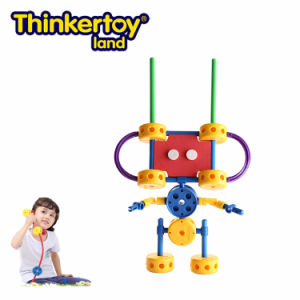 Thinkertoy Land Blocks Educational Toy Robot Series a. I Robots 1 (R6102)