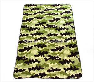 Military Polartec Fleece Blanket pictures & photos