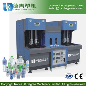 Semi Automatic Plastic Mineral Water Bottle Making Machine with Mold pictures & photos