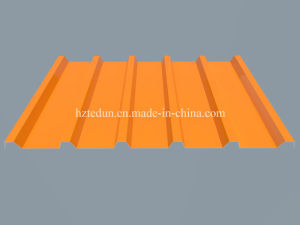 0.5mm Trapezoidal Galvanized Steel Metal Roofing Sheet pictures & photos