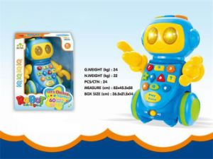 Baby Toy Battery Operated Robot Toy (H9327009) pictures & photos