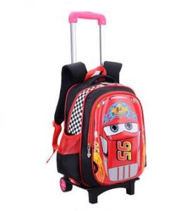 Top Quality Kid′s School Bag with a Pull Rod pictures & photos