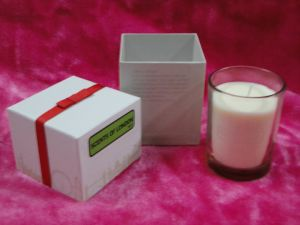 Scents of London Glass Jar Luxury Scented Candle