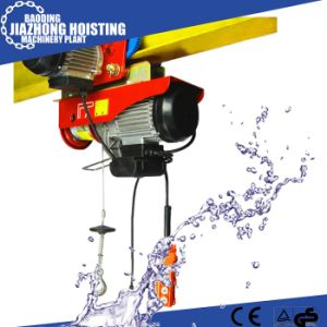 220V 50Hz Single Phase PA800 Mini Electric Wire Rope Hoist pictures & photos