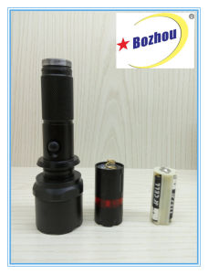 3-Mode High Quality Flashlight Long Range Rechargeable Torch Light pictures & photos