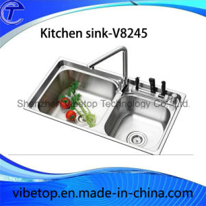 Factory Export Stainless Steel Kitchen Sink with High Quality pictures & photos