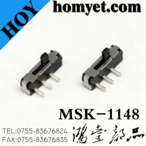 China Factory High Quality Slide Switch with 3pin DIP Type (msk-1148) pictures & photos