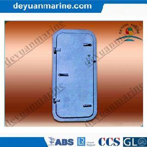 Marine Single Leaf Quick-Opening-Closing Watertight Steel Door pictures & photos