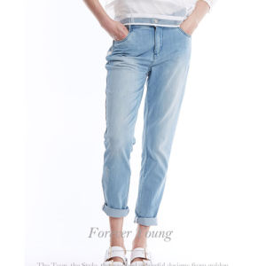2016 New Style Cotton Stretch Denim Jean Trousers for Women