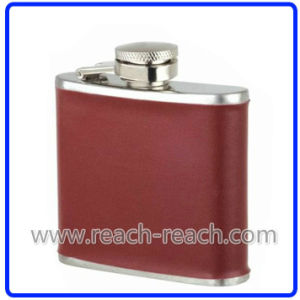 6oz Popular Stainless Steel Travel Wine Hip Flask (R-HF027) pictures & photos