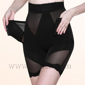 Tummy Control with Zip Corset High Waist Body Shaper pictures & photos