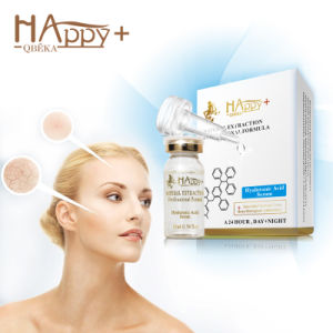 Pure Hyaluronic Acid Essence Happy+ Hyaluronic Acid Serum Facial Care for Moisturizing pictures & photos