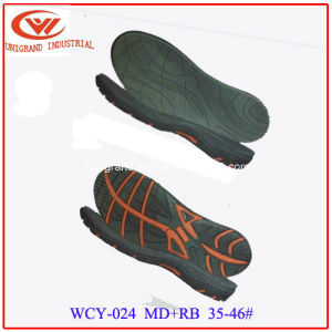 High Quality Fashion Sandals Sole Popular Men Slipper EVA Rb Outsole pictures & photos
