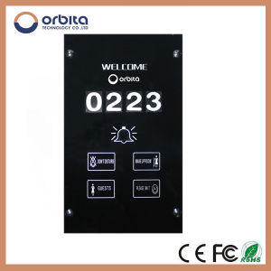 Hotel Electronic Doorplate/Hotel Doorbell Switch/Wired Doorbell Switch pictures & photos