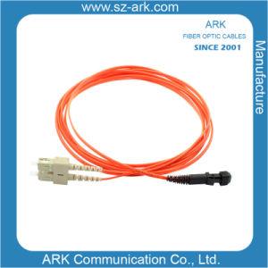 Sc-MTRJ Multimode Duplex Fiber Optic Cable/Patchcord pictures & photos