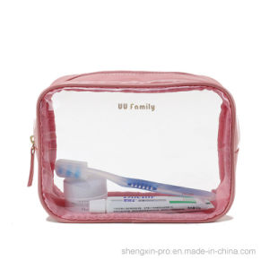 Transparent PVC Cosmetic Bag Make up Bag in Small Size