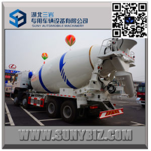 HOWO 12 Wheeler 10 M3 Cement Mixer Truck