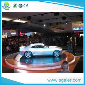 Mobile Hydraulic Revolving Car Exhibition Stage on Promotion pictures & photos