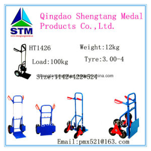 Metal Household Stair Climbing Foldable Hand Trolley pictures & photos