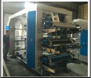 6 Colors Flexo Printing Machine for PE PP Film Roll (DC-YT61000) pictures & photos