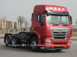 Sinotruk Man Technology Chassis Hohan 6*4 Tractor Head Truck pictures & photos