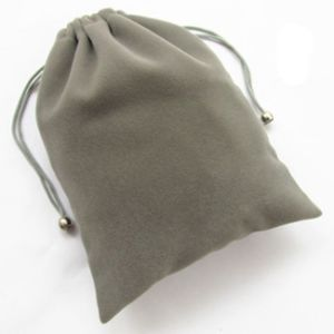 Promotional Velvet Drawstring Gift Pouches for Packaging (CVB-1162) pictures & photos