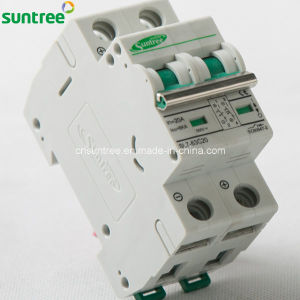 2 Pole DC550V Solar Miniature Circuit Breaker pictures & photos