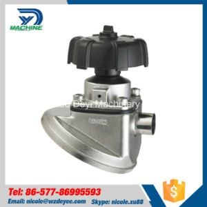 Stainless Steel Manual Welded Tank Bottom Diaphragm Valve (DY-V092) pictures & photos