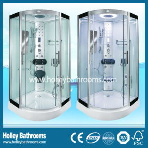 Hot Selling Computer Display Steam Shower Room with Top and Panel Lamps (SR115C)