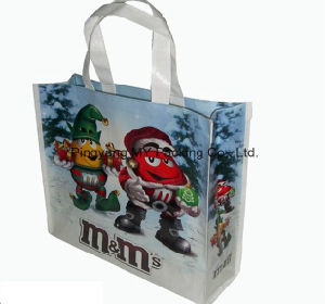 New Design Folding BOPP Laminated Promotion PP Woven Shopping Bag pictures & photos