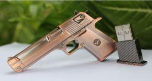 Mini Metal Gun 8GB USB Flash Drive (OM-M181) pictures & photos